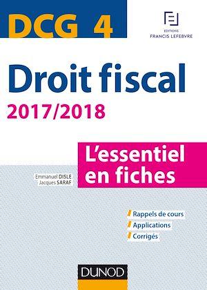 Téléchargez le livre :  DCG 4 - Droit fiscal - 2017/2018- 9e éd.