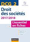 Téléchargez le livre numérique:  DCG 2 - Droit des sociétés 2017/2018 - 8e éd.