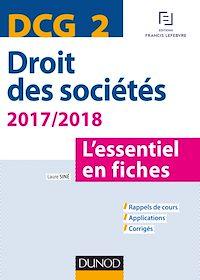 Télécharger le livre : DCG 2 - Droit des sociétés 2017/2018 - 8e éd.