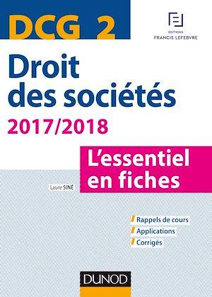 Téléchargez le livre :  DCG 2 - Droit des sociétés 2017/2018 - 8e éd.