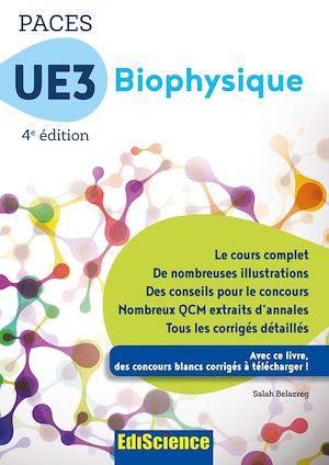 Téléchargez le livre :  PACES UE3 Biophysique - 4e éd.