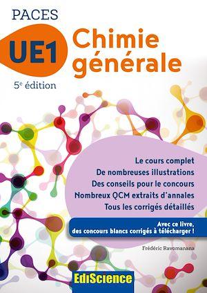 Téléchargez le livre :  PACES UE1 Chimie générale - 5e éd.
