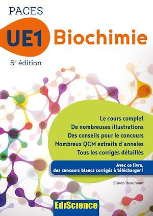 Téléchargez le livre :  PACES UE1 Biochimie - 5e éd.