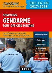 Le concours Gendarme sous-officier interne - 2017-2018