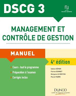 Téléchargez le livre :  DSCG 3 - Management et contrôle de gestion - 4e éd.