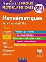 Télécharger le livre :  Mathématiques - Professeur des écoles - Ecrit / admissibilité - CRPE 2018