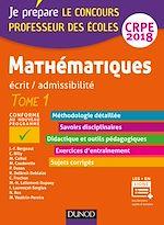 Télécharger cet ebook : Mathématiques - Professeur des écoles - Ecrit / admissibilité - CRPE 2018