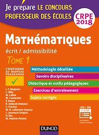 Mathématiques - Professeur des écoles - Ecrit / admissibilité - CRPE 2018