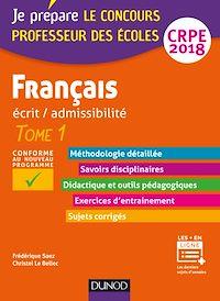 Français - Professeur des écoles - Ecrit / admissibilité - CRPE 2018