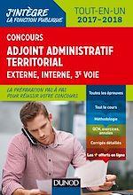 Télécharger le livre :  Concours Adjoint administratif territorial 2017/2018 - 3e éd. - Tout-en-un