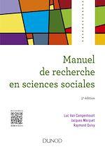 Télécharger le livre :  Manuel de recherche en sciences sociales - 5e éd.