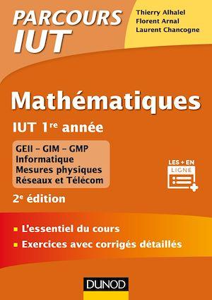 Téléchargez le livre :  Mathématiques IUT 1re année