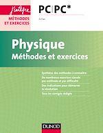Télécharger le livre :  Physique - Méthodes et exercices - PC PC*