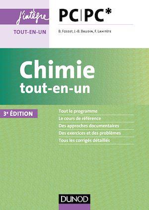 Téléchargez le livre :  Chimie tout-en-un PC-PC* - 3e éd