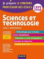Télécharger le livre :  Sciences et technologie - Professeur des écoles - Oral, admission - CRPE 2018