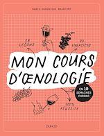 Télécharger le livre :  Mon cours d'oenologie