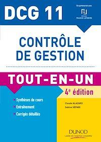 DCG 11 - Contrôle de gestion - 4e éd.