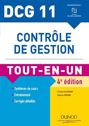 Téléchargez le livre :  DCG 11 - Contrôle de gestion - 4e éd.