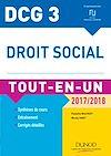 Téléchargez le livre numérique:  DCG 3 - Droit social 2017/2018 - 10e éd.