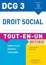 Télécharger cet ebook : DCG 3 - Droit social 2017/2018 - 10e éd.