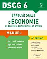 Télécharger le livre :  DSCG 6 - Épreuve orale d'économie se déroulant partiellement en anglais - 4e éd.