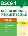 Téléchargez le livre numérique:  DSCG 1 - Gestion juridique, fiscale et sociale 2017/2018