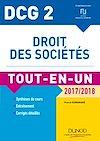Téléchargez le livre numérique:  DCG 2 - Droit des sociétés 2017/2018- 10e éd.