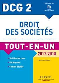 DCG 2 - Droit des sociétés 2017/2018- 10e éd.