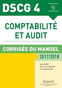 DSCG 4 - Comptabilité et audit - 2017/2018- 8e éd.