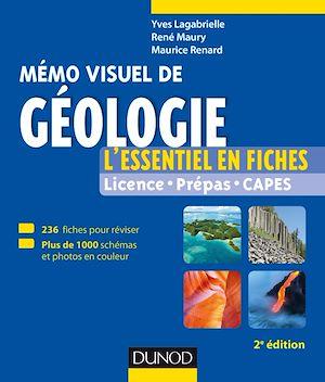 Téléchargez le livre :  Mémo visuel de géologie - 2e éd.