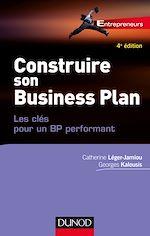 Télécharger le livre :  Construire son Business Plan - 4e éd.