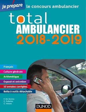 Téléchargez le livre :  Total Ambulancier 2018-2019 - Concours Ambulancier