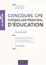 Télécharger le livre :  Concours CPE - Conseiller principal d'éducation - 3e éd.