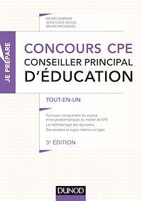 Concours CPE - Conseiller principal d'éducation - 3e éd.