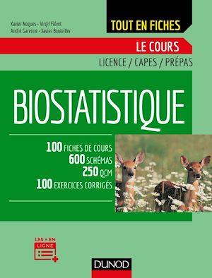 Téléchargez le livre :  Biostatistique