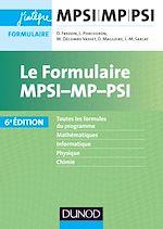 Télécharger le livre :  Le formulaire MPSI-MP-PSI - 6e éd.
