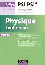 Télécharger le livre :  Physique tout-en-un PSI-PSI* - 4e éd.