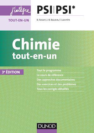 Téléchargez le livre :  Chimie tout-en-un PSI-PSI* - 3ed