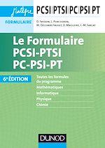 Télécharger le livre :  Le Formulaire PCSI-PTSI-PC-PSI-PT - 6e éd.