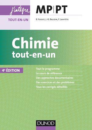 Téléchargez le livre :  Chimie tout-en-un MP-PT - 4e éd