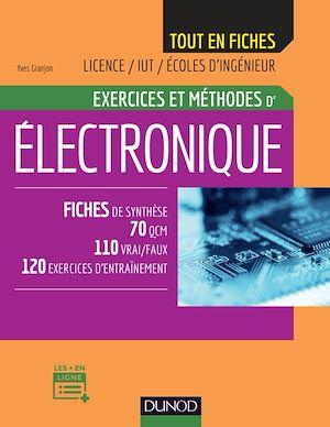 Téléchargez le livre :  Electronique - Exercices et méthodes