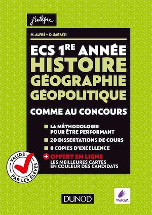Téléchargez le livre :  ECS 1re année - Histoire Géographie Géopolitique