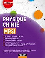 Télécharger le livre :  Physique-Chimie MPSI