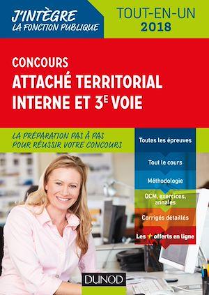 Téléchargez le livre :  Concours Attaché territorial Interne et 3e voie - 2018