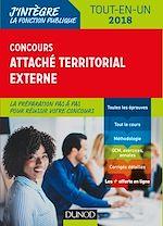 Télécharger le livre :  Concours Attaché territorial externe - 2018