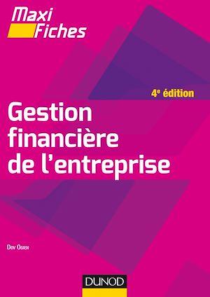 Téléchargez le livre :  Maxi fiches - Gestion financière de l'entreprise - 4e éd.