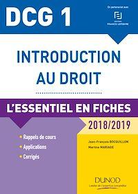 Télécharger le livre : DCG 1 - Introduction au droit - 2018/2019 - 9e éd.