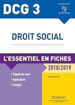 Télécharger le livre :  DCG 3 - Droit social - 9e éd.