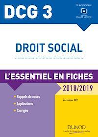 DCG 3 - Droit social - 9e éd.