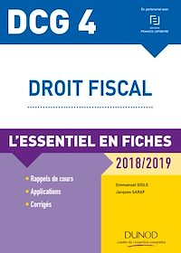 DCG 4 - Droit fiscal - 2018/2019